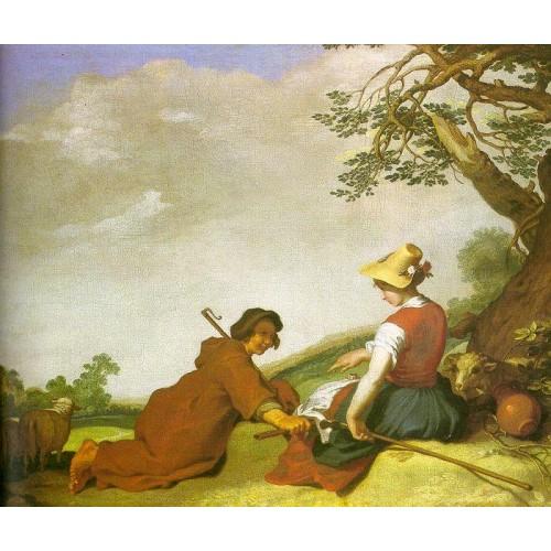 Shepherd and Sherpherdess