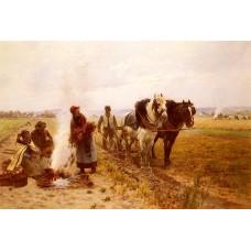 Plowing The Fields