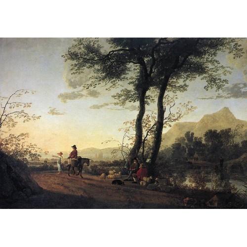 A Road near a River