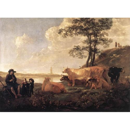 Landscape near Rhenen