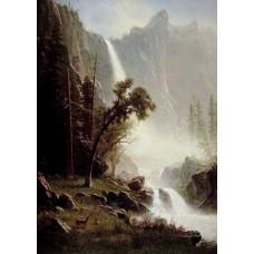 Bridal Veil Falls Yosemite