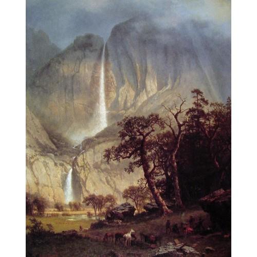 Cho looke The Yosemite Fall