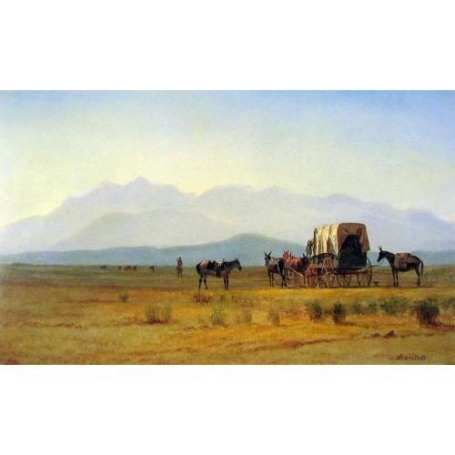 Surveyor's Wagon in the Rockies
