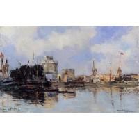 La Rochelle the Harbor Bright Sky