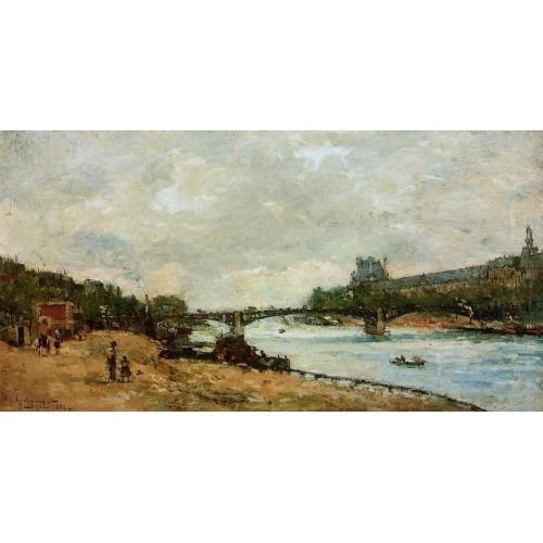 Paris the Bridge of Saint Peres