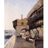 The Quay de l'Amiraute in Algiers