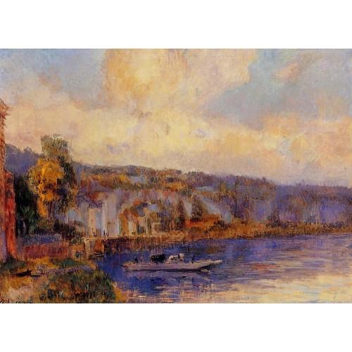 The Seine at La Bouille