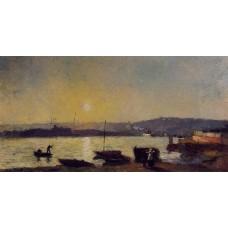 The Seine at Rouen 1