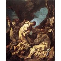 Three Camaldolite Monks at Prayer