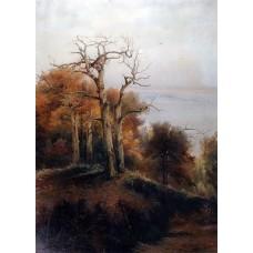 Autumn forest kuntsevo damn place 1872