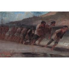 Barge haulers on the volga 1871