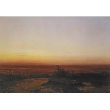 Dawn in the desert 1852