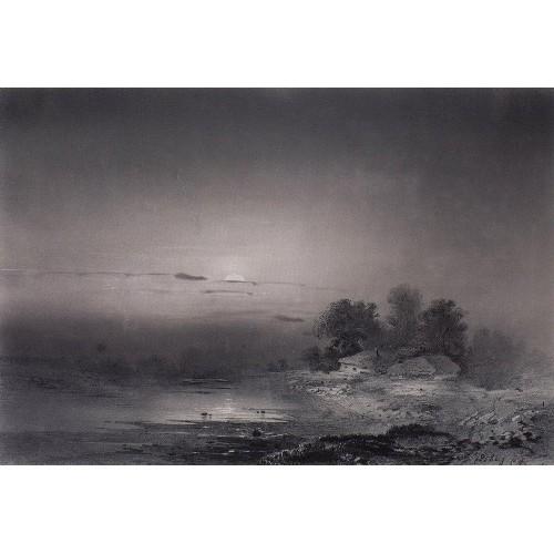 Moonlit night 1853