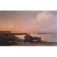 Sea shore in the vicinity oranienbaum 1854