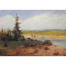 Summer landscape 1850