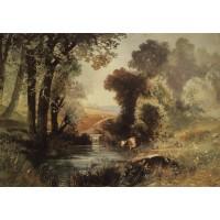 Summer landscape 1860