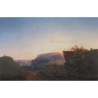 Ukrainian landscape 1849