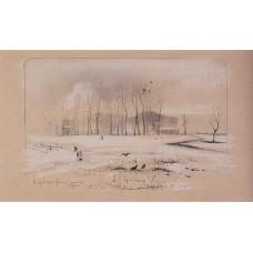 View the village pokrovskoye feely 1893