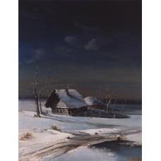 Winter landscape 1871