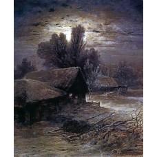 Winter night 1869