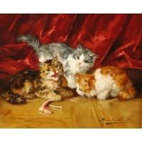 Cat painting 1