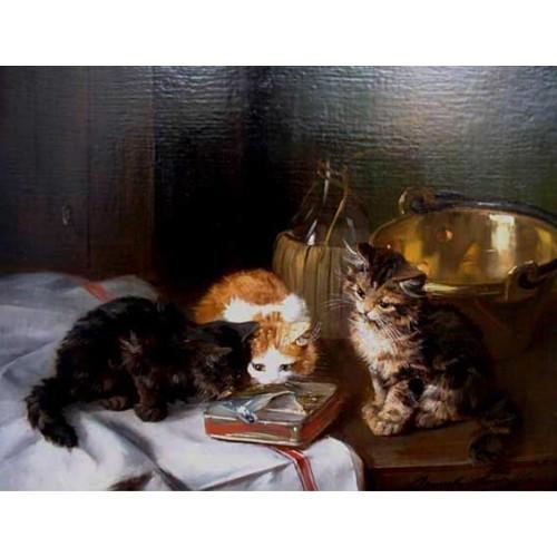 Cat painting 11