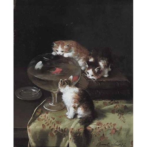 Cat painting 3