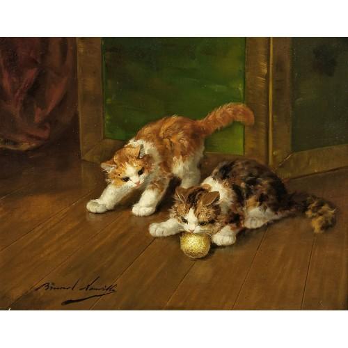 Cat painting 4