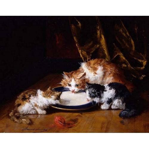 Cat painting 5
