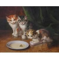 Cat painting 6