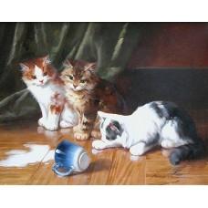 Cat painting 7