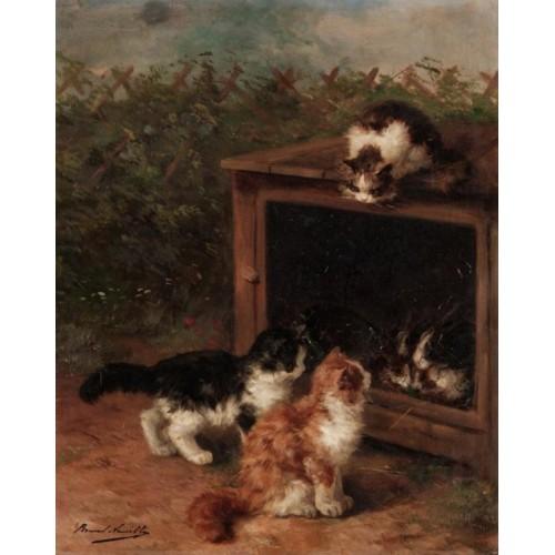 Naughty kittens