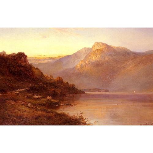 Sunset On The Loch