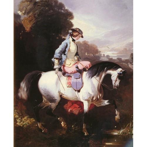 An Elegant Equestrienne