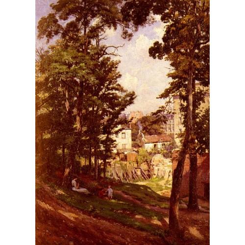 La Famille Du Peintre Sur Les Hauteurs De Montmartre
