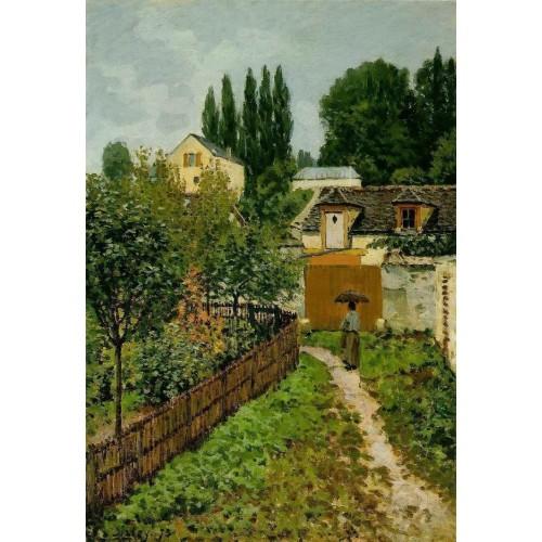 Garden Path in Louveciennes