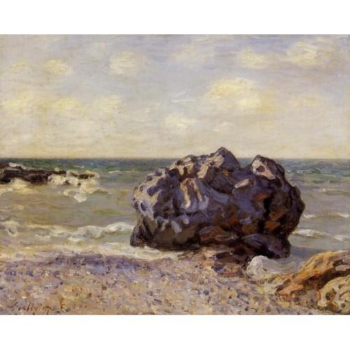Langland Bay Storr's Rock Morning