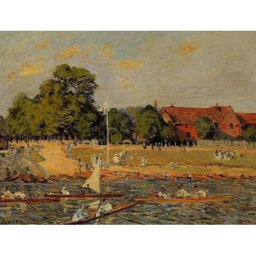 Regatta at Hampton Court