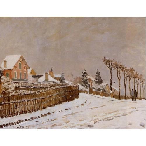 Snow at Louveciennes 1