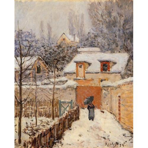 Snow at Louveciennes 3