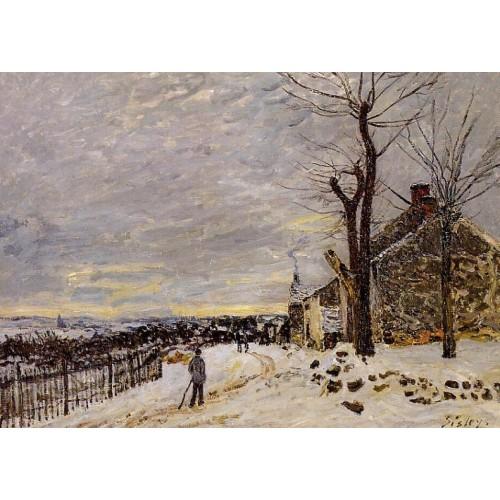 Snowy Weather at Veneux Nadon