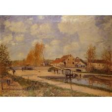 The Bourgogne Lock at Moret Spring