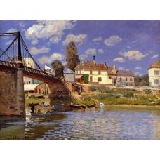 The Bridge at Villeneuve la Garenne