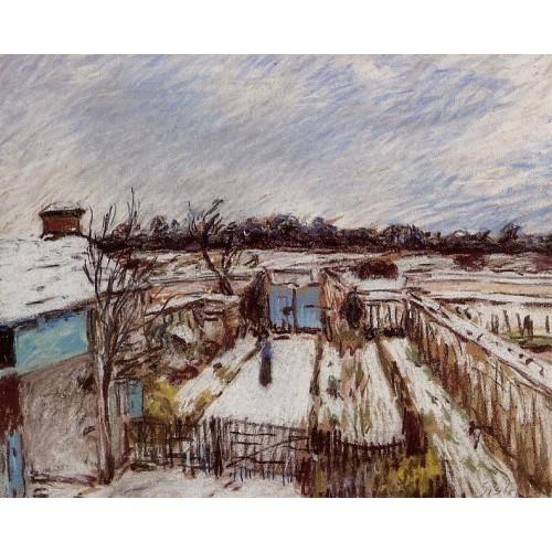 The Garden under the Snow