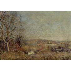 The Plain of Veneux View of Sablons