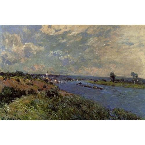 The Seine at Saint Cloud