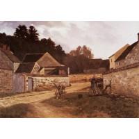 Village Street in Marlotte