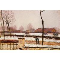 Winter Landscape Moret