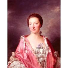 Portrait Of Elizabeth Gunning Duchess Of Argyll