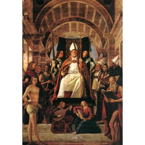 Altarpiece of St Ambros